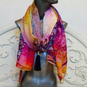 Shanghai Story Pure Silk Scarves Scarf Shawl NWT